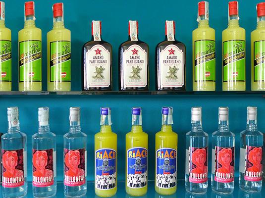 LiquoriAmaro partigiano – Rimoncello – Riace Vodka Kollontai